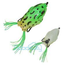 "Frog Topwater Fishing Lure Crankbait Hooks Bass Bait Tackle 5.5cm/2.17"" USA"
