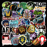 50Pcs Game Skateboard Stickers Bomb Luggage Laptop Guitar Decals Pack Lot Cool