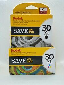 Kodak 30XL Color & Black Ink Cartridge Combo Set | BRAND NEW!!