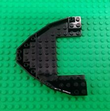*NEW* Lego Ship Hull Base Black 10x12 Stud Front Sailing Boat Pirate x 1 piece