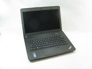 """Lenovo Edge E440 14.0"""" Laptop 2.40 Ghz i3-4000M 4GB RAM Grade C No Optical Drive"""