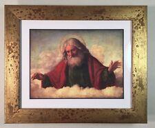 God Holy Father by Giovanni Battista Cima renaissance painting framed print