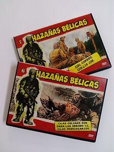HAZAÑAS BELICAS  2 DVDs Originales   Volumen 6 y 7