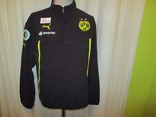 "Borussia Dortmund Puma DFB-Pokal Spieler Fleece Zipper/Jacke 13/14 ""EVONIK"" Gr.M"