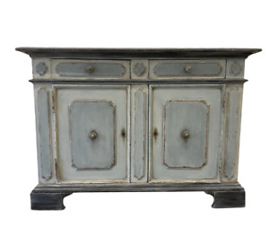 Italian Painted Blue & Gray Buffet - Early 20th C