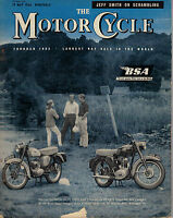 The Motor Cycle Magazine 19 May 1960 James Scooter BSA Sunbeam 2421F