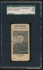 1924-25 Holland Creameries (Hockey) #3 ART SOMERS (Winnipeg) Black Hawks Rangers