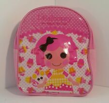 Lalaloopsy Sew Magical Sew Cute Small Pink Vinyl & Fabric Backpack