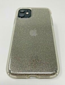 Speck Presidio Clear with Glitter Case For Apple iPhone 11 And Apple iPhone XR