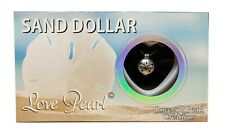 """Love Pearl Creations Sand Dollar Necklace Jewelry Kit with 16"""" Stainless Chain"""