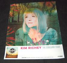 "Kim Richey 15"" X 12"" The Edgeland Tour Yep Rock Records Music Poster"