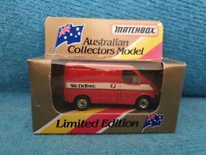 Matchbox Superfast 60 Ford Transit Van Australia Post We Deliver MIB