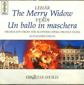 Lehar - The Merry Widow/ Verdi - Un Ballo In Maschera, Gibson - CD, VG