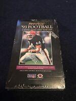 1993 Pinnacle NFL Football Cards - Factory Sealed Box - 36 packs
