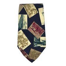 """Eddie Bauer Men's Neck Tie Silk 58"""" L 3 3/4"""" W BOGO 50% OFF"""