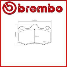 07.B314.62#1 PASTIGLIE FRENO ANTERIORE SPORTIVE BREMBO SPORT RENAULT CLIO II (BB