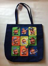 BNWT Authentic Disney Parks Toy Story Mr. Potato Head Tote Bag Purse Navy Blue