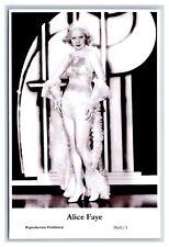 Alice Faye (C) Swiftsure Postcard year 2000 modern print P641/3 glamour photo