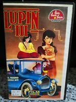 Lupin 3 Il tesoro degli avi - vhs-  1991 - Univideo -F