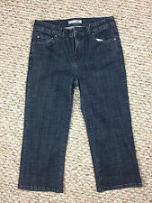 "CHICO'S Platinum ""Raleigh W Crop"" Denim Capris - Chico's Size 0 (Small/4) MINT!"
