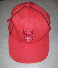 CASQUETTE ROUGE FOOT FOOTBALL EQUIPE BELGE BELGIQUE DIABLES ROUGES RED DEVILS
