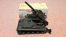 French Dinky #813 AMX 155mm Self Propelled Gun - Original Box.