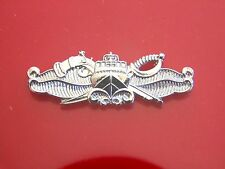 Usn Navy Swcc Special Warfare Craft Crew Mess Dress Mini Qualification Badge S