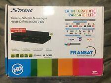 Decodeur Fransat  Strong  SRT 7405 Hd + carte neuve pc6