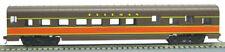 HO 72 Ft Pass. Pullman Sleeper ,RTR Illinois Central (Brown/Orange) (1-980F)