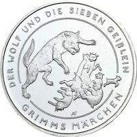 Deutschland 20 Euro 2020 Wolf und sieben Geisslein Grimms Märchen prägefrisch