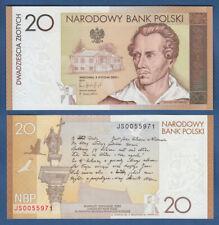POLEN / POLAND 20 Zlotych 2009 (ohne Folder) UNC P.180
