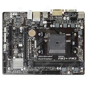 GIGABYTE GA-F2A88XM-DS2 For AMD A88X FM2+/FM2 Micro ATX Motherboard DDR3 64GB