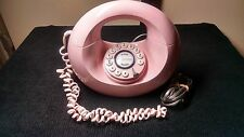 Vintage Pink Polyconcept Donut Push Button Telephone