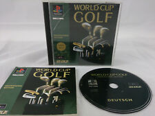 World Cup Golf Professional Edition Sony PlayStation 1 1995 PS1 PAL