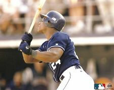 RICKEY HENDERSON 8x10 ACTION PHOTO San Diego Padres 3,000th HIT! Cooperstown HOF
