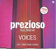 PREZIOSO w/ NICK BEAT Voices 4TRX MIXES & MEGAMIX Europe CD single USA Seller