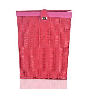 Arpan red laundry basket large