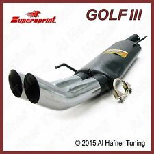 VW Golf 3 Supersprint muffler 93'-99' 323666