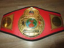 Title Boxing Champion Belt 2008 Angel Montemayor
