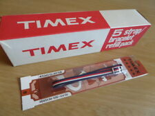 1x Vintage TIMEX Nylon 'BOATER' Watch Strap - New Old Stock - 8mm - REF13
