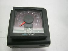 GF+ Signet Model: 3-5030 GPM Flow Monitor.   Powered Up.  Good Used Stock  <  J