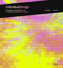 Bildband INDIVIDUALDESIGN Materialien und Techniken für (Innen) Architektur (210