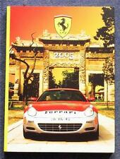 Ferrari official Year Book 2005 Formula one GP FXX F430 SPIDER SUPERAMERICA