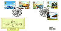 24 JUNE 1981 NATIONAL TRUSTS POST OFFICE FIRST DAY COVER GLENFINNAN INVER SHS