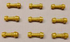 x9 NEW Lego Lightsaber Hilts Perl Gold Minifigure Weapons STAR WARS NINJAGO