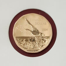 2004  Special Specimen Canada Goose - Loonies 1 Dollar - Uncirculated