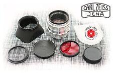 Serviced Carl Zeiss Jena BIOTAR 58/2 M42 10 Blades w/ Accessories Near Mint Work