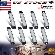 8X Exterior White Led Porch Utility Lights Awning Light For Camper Trailer Rv