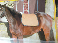 Saddlecloths,quality dressage square Numnah saddle cloth full (horse) 3 colours