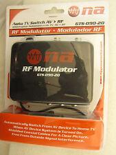 RF Modulator/Antenna Switch Converts AV input to Analog Channel 3  NA GTS-090-20